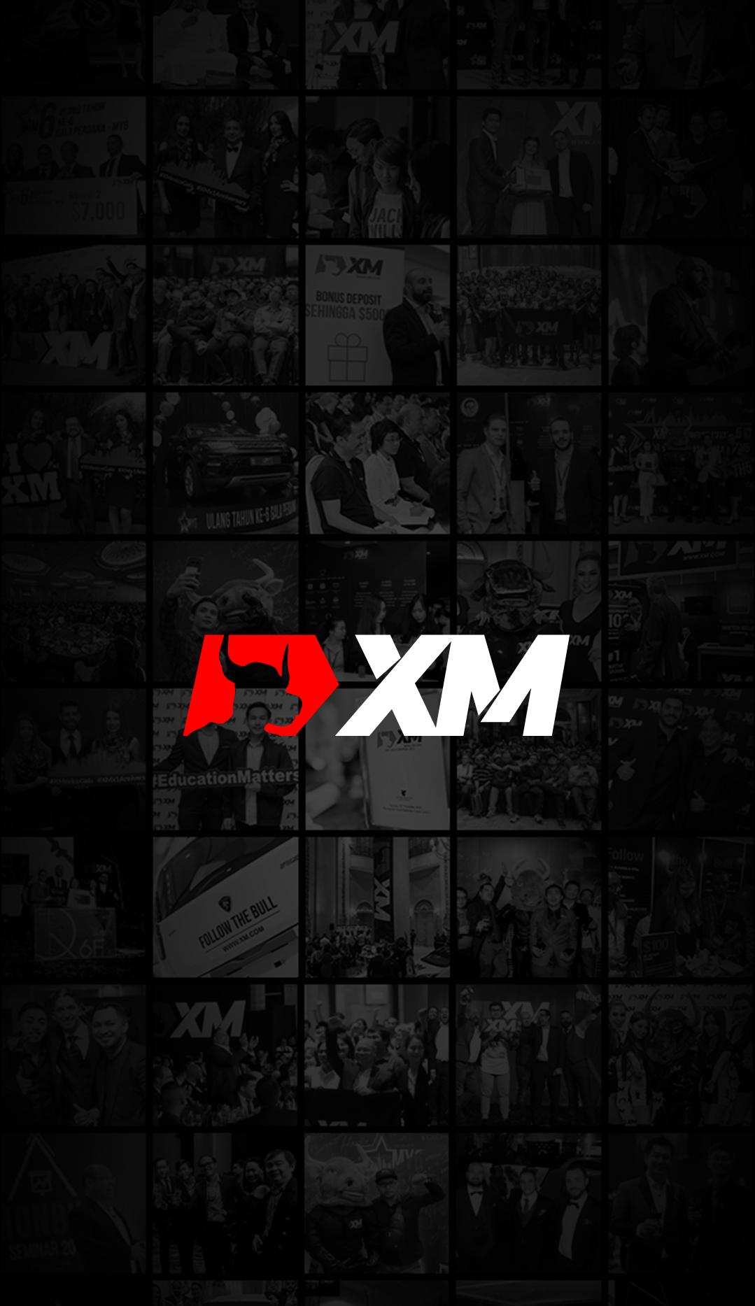 XMアプリのインストール完了画面