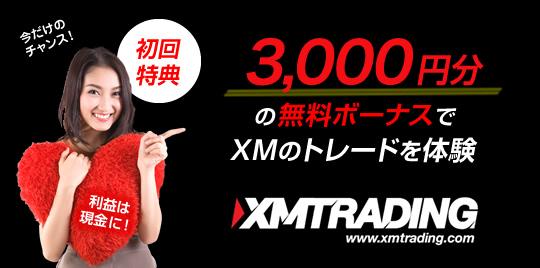XMトレーディングの広告バナー